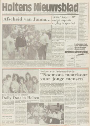 Holtens Nieuwsblad 1986-09-11