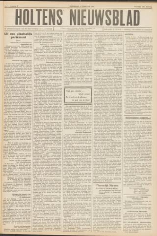 Holtens Nieuwsblad 1952-02-09