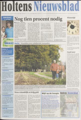 Holtens Nieuwsblad 2008-10-21