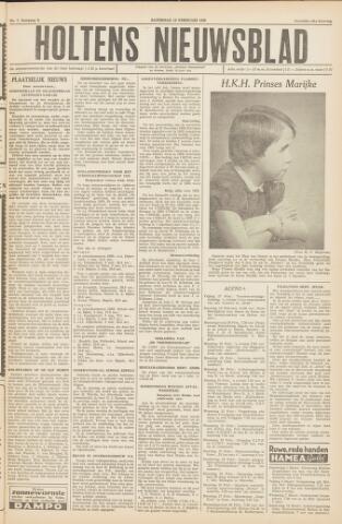 Holtens Nieuwsblad 1956-02-18
