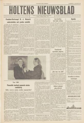 Holtens Nieuwsblad 1960-01-09