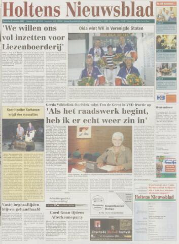 Holtens Nieuwsblad 2004-09-09