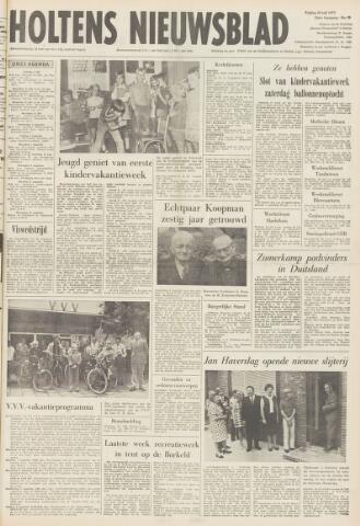 Holtens Nieuwsblad 1972-07-28