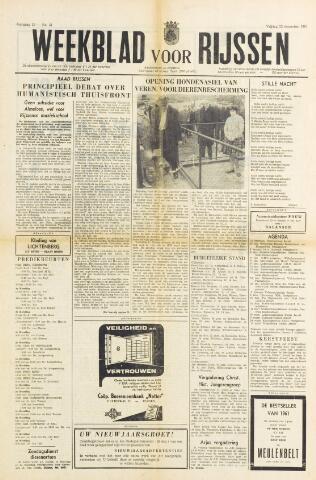 Weekblad voor Rijssen 1961-12-22
