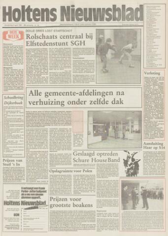 Holtens Nieuwsblad 1987-04-09