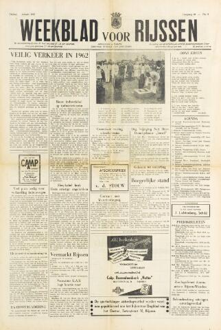 Weekblad voor Rijssen 1962-01-26