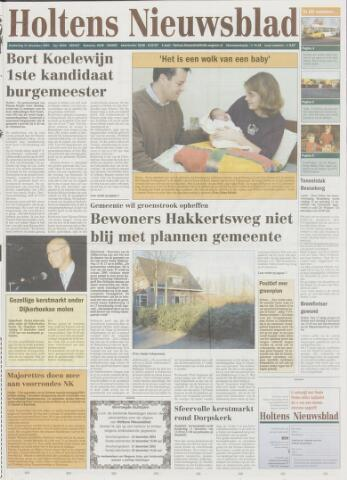 Holtens Nieuwsblad 2003-12-11