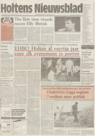 Holtens Nieuwsblad 1991-08-22