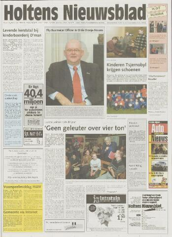 Holtens Nieuwsblad 2001-12-13