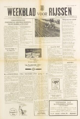 Weekblad voor Rijssen 1961-11-03