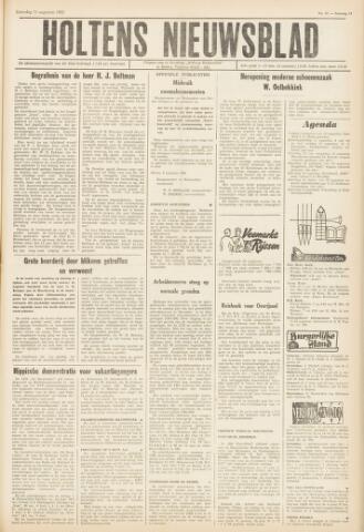 Holtens Nieuwsblad 1962-08-11