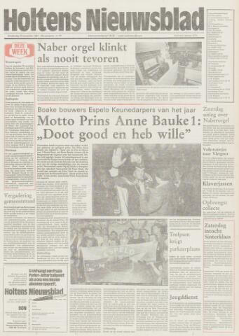 Holtens Nieuwsblad 1987-11-19