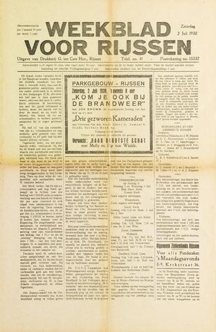 Weekblad voor Rijssen 1938-07-02