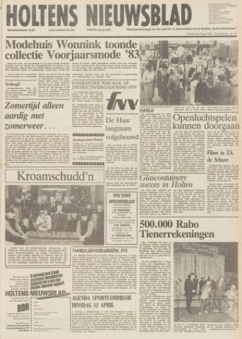 Holtens Nieuwsblad 1983-04-07