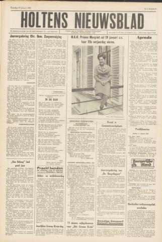 Holtens Nieuwsblad 1965-01-16