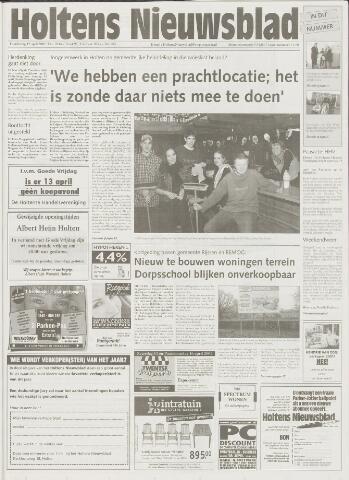 Holtens Nieuwsblad 2001-04-12