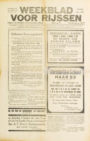 Weekblad voor Rijssen 1938-01-08