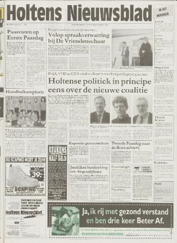 Holtens Nieuwsblad 1998-04-02