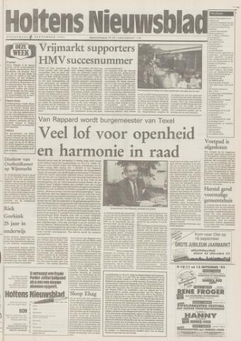Holtens Nieuwsblad 1993-09-09