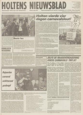 Holtens Nieuwsblad 1982-02-25