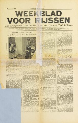 Weekblad voor Rijssen 1924-07-12