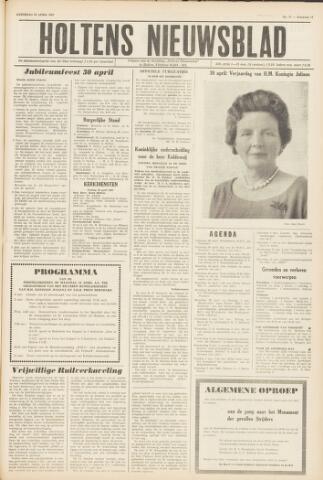Holtens Nieuwsblad 1962-04-28