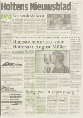 Holtens Nieuwsblad 1987-12-24
