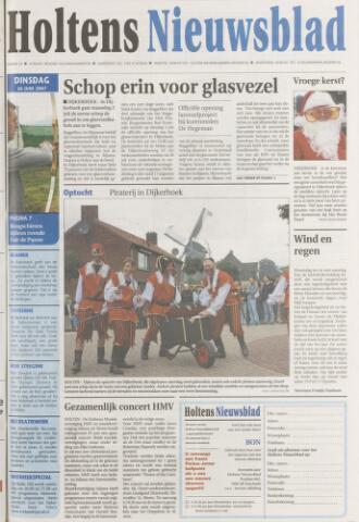 Holtens Nieuwsblad 2007-06-26