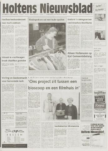 Holtens Nieuwsblad 2000-10-05