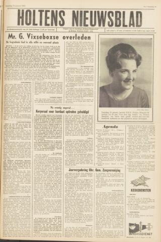 Holtens Nieuwsblad 1963-01-19