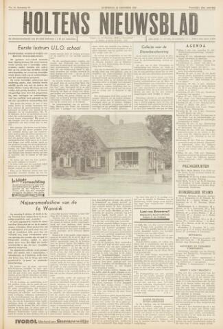 Holtens Nieuwsblad 1958-10-11