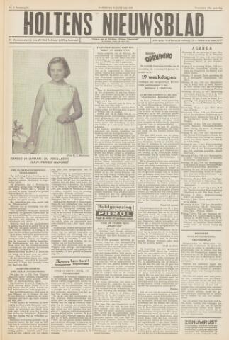 Holtens Nieuwsblad 1958-01-18