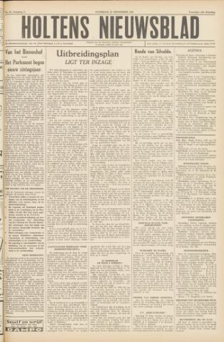 Holtens Nieuwsblad 1954-09-25