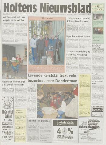 Holtens Nieuwsblad 2001-12-28