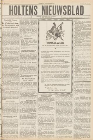 Holtens Nieuwsblad 1952-11-29