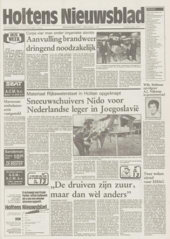 Holtens Nieuwsblad 1993-01-21