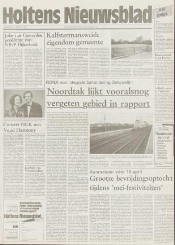 Holtens Nieuwsblad 1995-02-02
