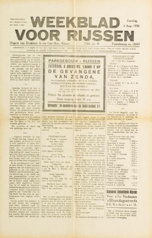 Weekblad voor Rijssen 1938-08-06