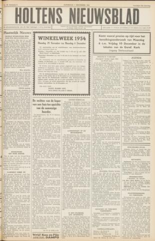 Holtens Nieuwsblad 1954-12-04