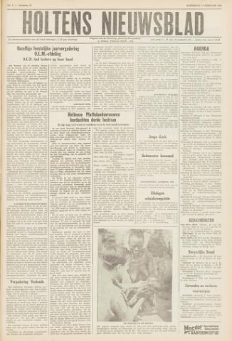 Holtens Nieuwsblad 1961-02-04