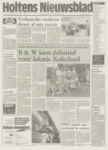Holtens Nieuwsblad 1993-03-25