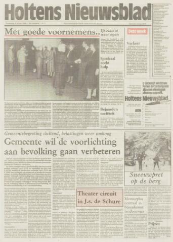 Holtens Nieuwsblad 1986-01-09