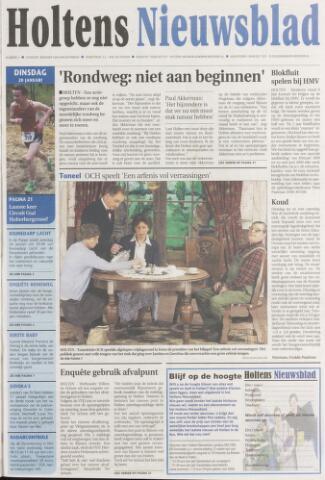 Holtens Nieuwsblad 2009-01-20
