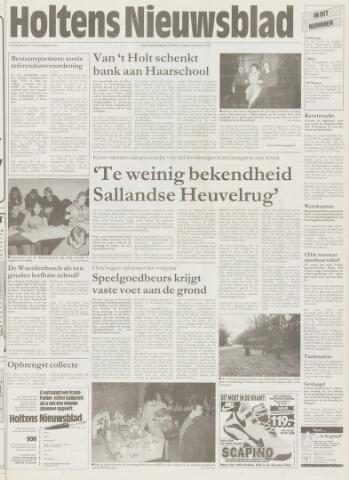 Holtens Nieuwsblad 1996-11-07