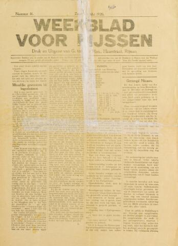 Weekblad voor Rijssen 1920-05-01
