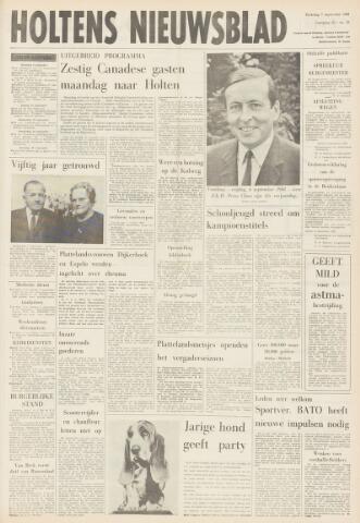 Holtens Nieuwsblad 1968-09-07