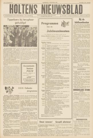 Holtens Nieuwsblad 1958-08-02