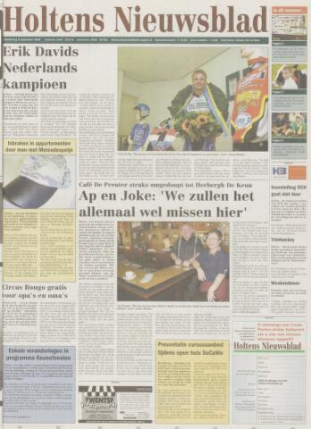 Holtens Nieuwsblad 2004-09-02