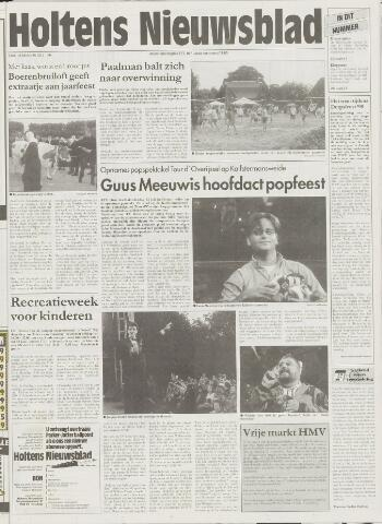 Holtens Nieuwsblad 1998-07-30