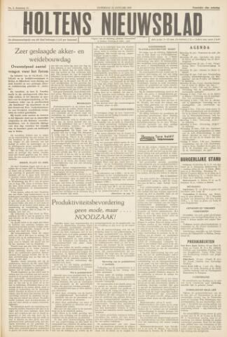 Holtens Nieuwsblad 1959-01-24